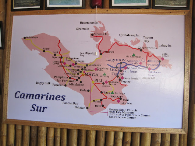 camarines sur map