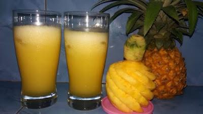 khasiat jus nanas untuk wanita