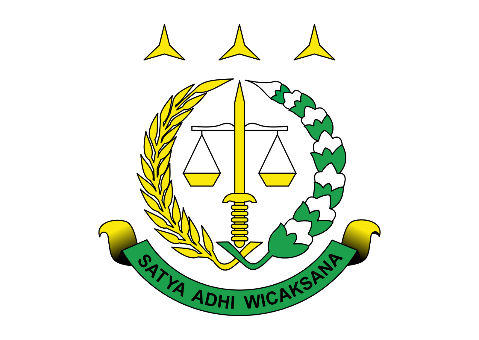 Logo Kejaksaan Agung RI Vector Full Color