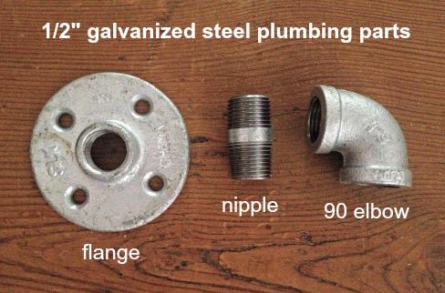 plumbing parts for sliding door hardware