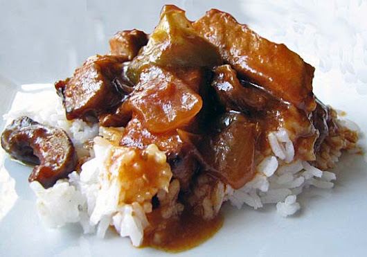 Gotta Love the Slow Cooker: Sweet and Savory Cantonese Pork