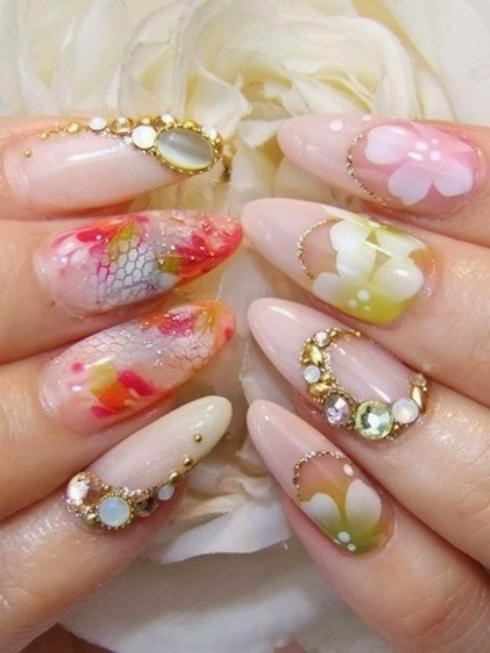 What\'s New In Nail Art Designs For Girls 2013 | WFwomen