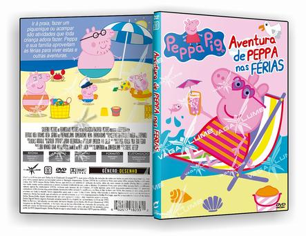 CAPA DVD – Aventura De Peppa Nas Ferias – ISO