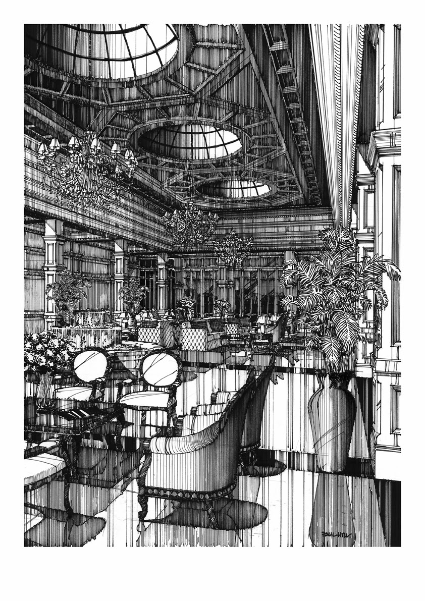 14-Paul-Hill-Pen-and-Ink-Architectural-Drawings-and-Sketches-www-designstack-co