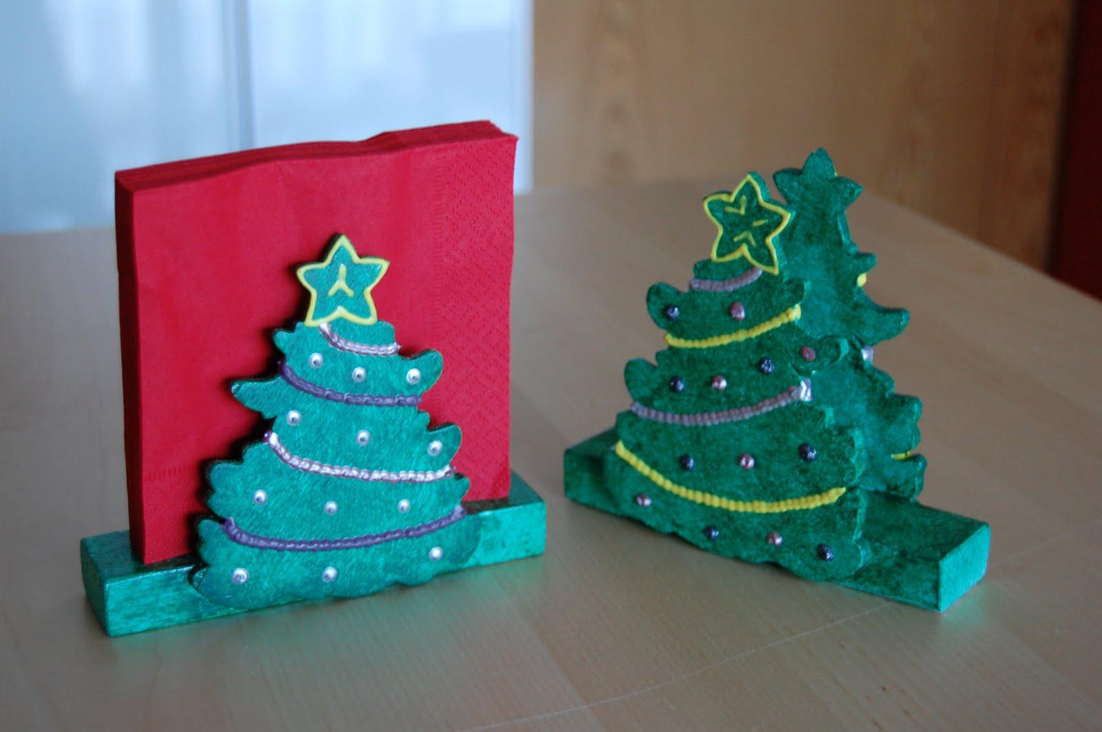 La vena creativa servilleteros para navidad for Cosas para hacer de navidad faciles