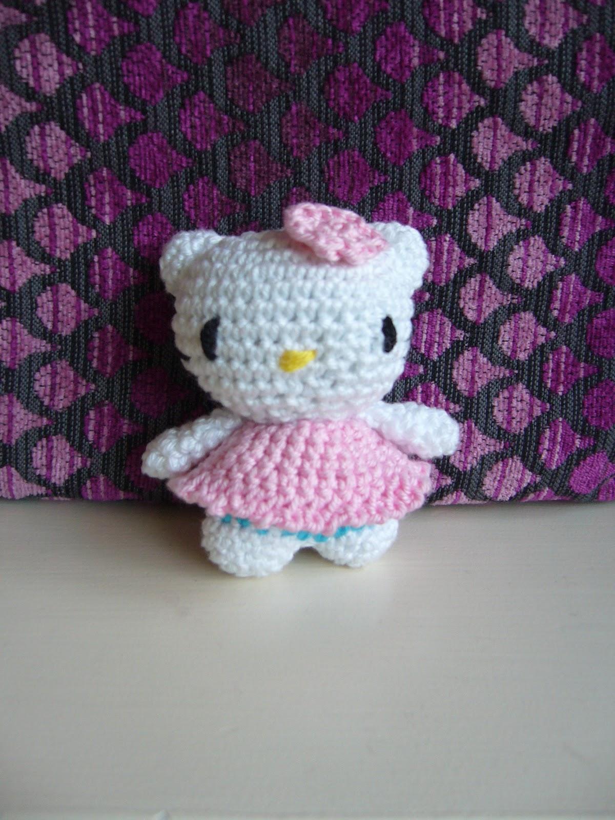 Kitty tejida | Hello kitty amigurumis, Muñeca amigurumi, Ganchillo ... | 1600x1200