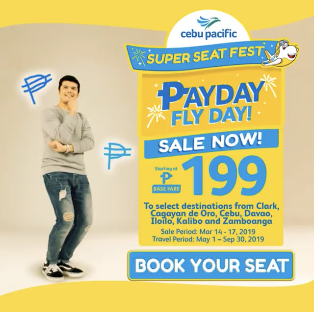 LATEST CEBU PACIFIC PROMO FARE 2019, SEAT SALE & PISO FARE TICKETS
