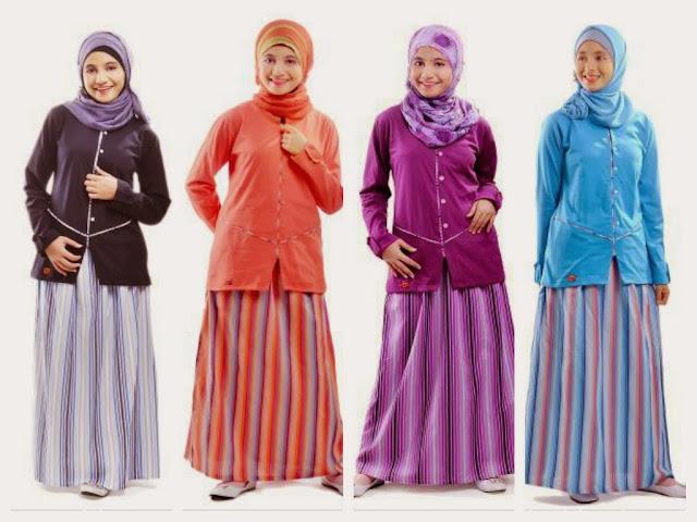 Model Baju Muslim Lebaran Anak Muda Terbaru