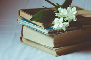 Libros con una flor de romance para mujeres