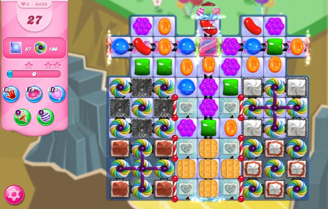 Candy Crush Saga level 6466
