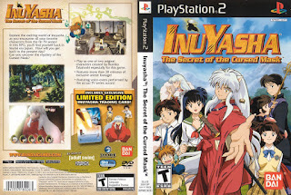 INUYASHA: THE SECRET OF THE CURSED MASK PS2
