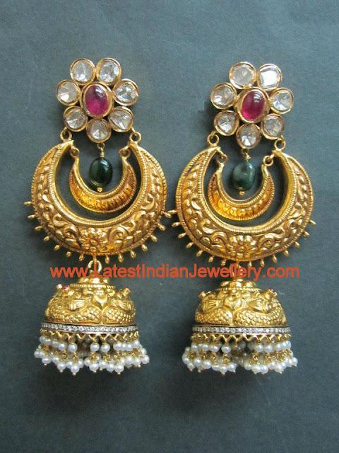 Nakshi Jhumkas from Tibarumal