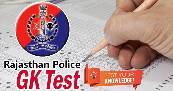 rajasthan police gk test paper