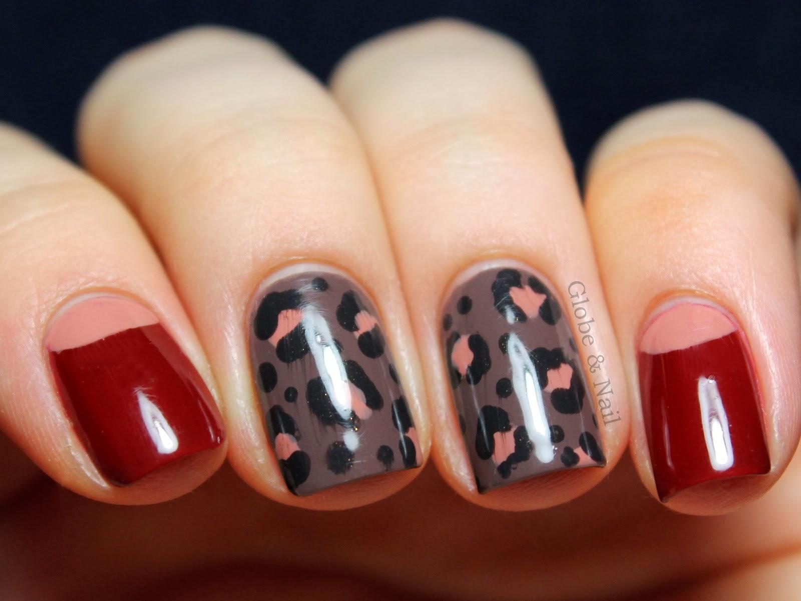 Globe & Nail: LaCC Fall/Winter 2013 Nail Art: Leopard ...