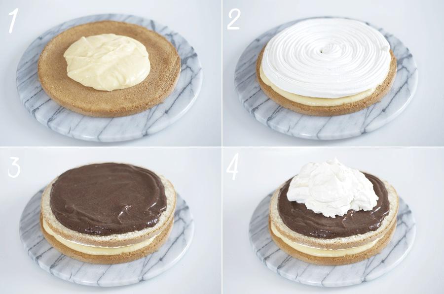 tårta, steg för steg