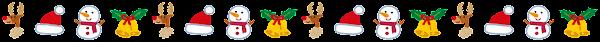 クリスマスのライン「キャラクター」