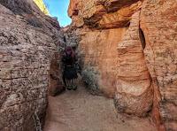 Side Canyon off Zebra Slot Canyon Escalante Utah