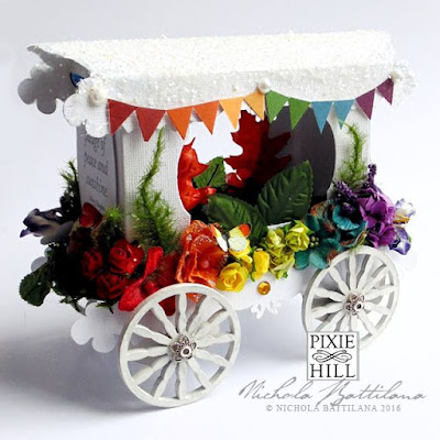Paper Rainbow Carriage - Nichola Battilana
