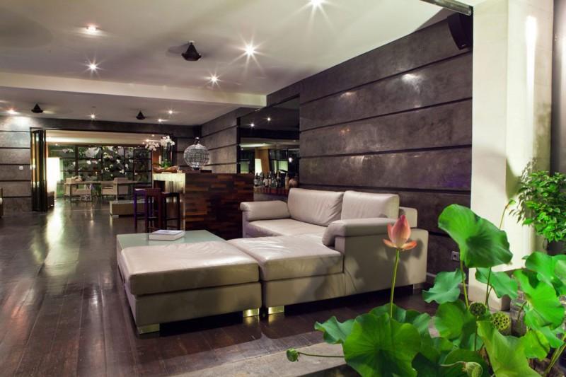 Hogares frescos casa hannah por bo dise o en indonesia for Diseno de habitacion principal pequena