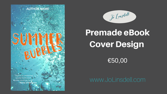 Featured Premade eBook Cover, €50,00 #BookCover #BookCoverDesign