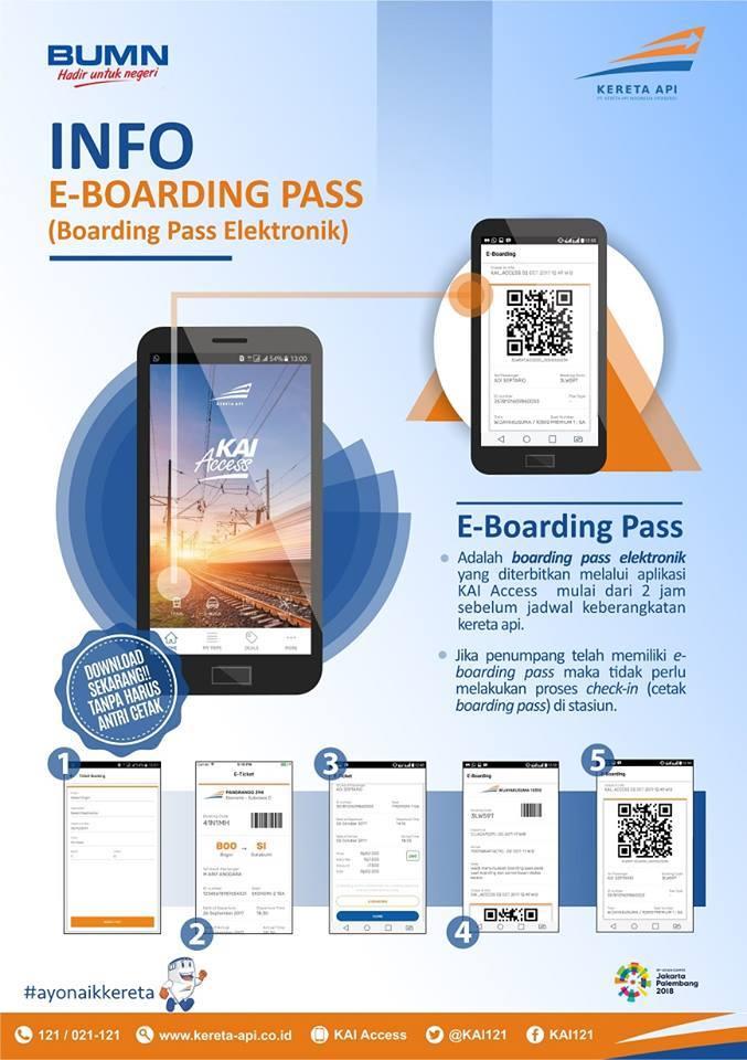 E Boarding Cara Terbaru Untuk Check In Informasi Seputar Kereta Api