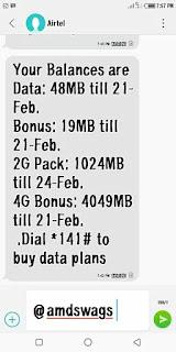 Airtel 4G Lite Bonus