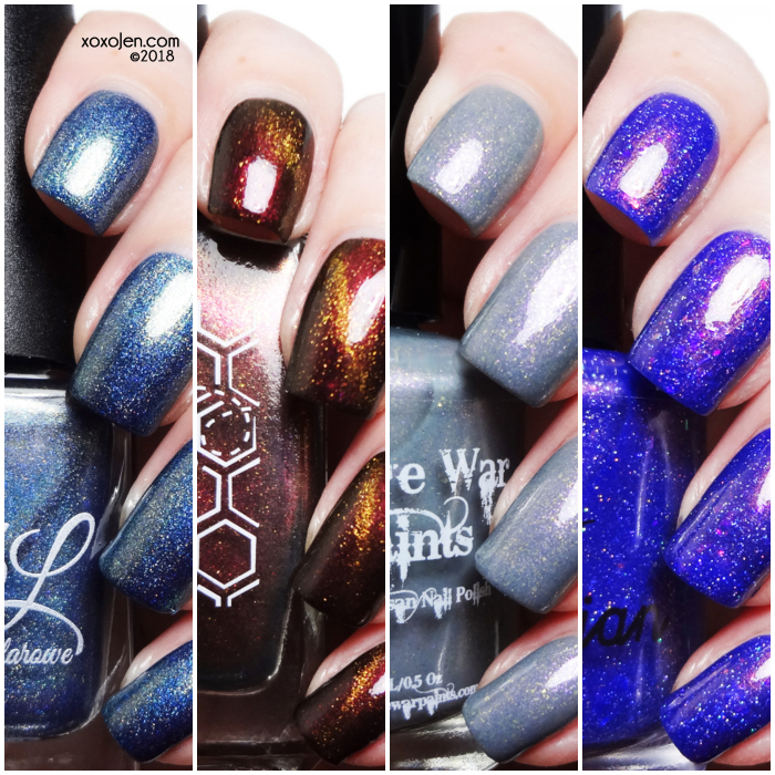 xoxoJen's swatches of Shimmer Me Box: July