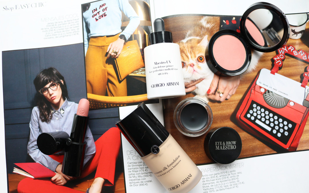 High-End Makeup: What To Try from Armani Beauty