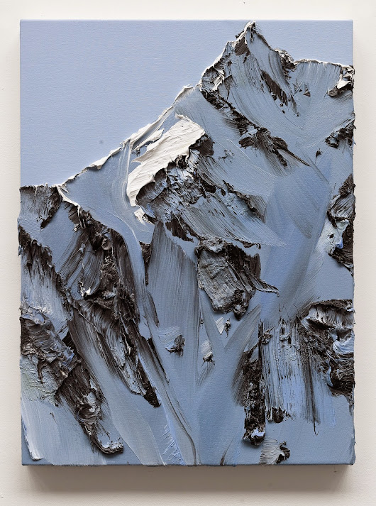 Conrad Jon Godly's Mountain Paintings Drip from the Canvas