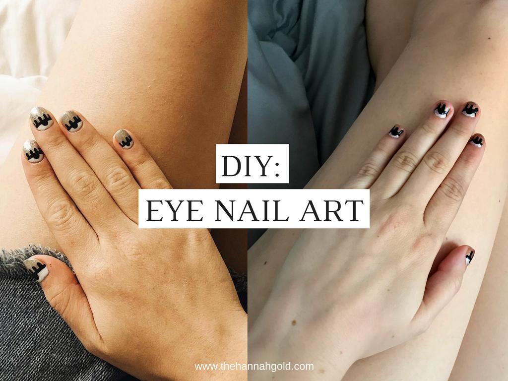 Broke & Fabulous: Can I Do That: Eye Nail Art