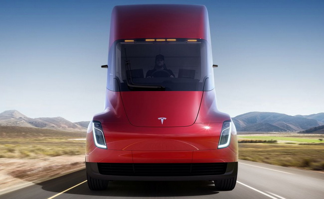 Tinuku UPS ordered 123 units of Tesla Semi