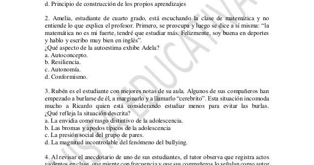 Simulacro 18 nombramiento docente 2017 preg ntale al profesor - Habitacion en ingles como se escribe ...