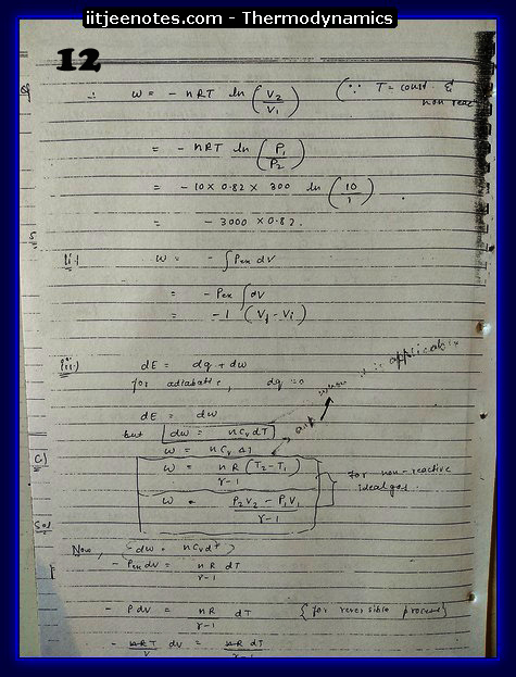 Thermodynamics chemistry1