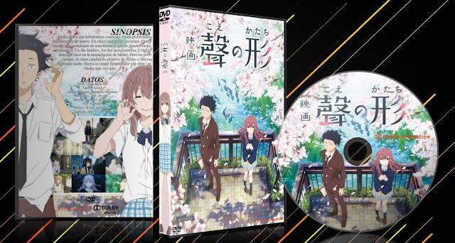 Koe No Katachi Ver.2 | Cover DVD | MEGA |