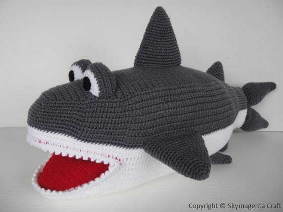 Free Crochet Pattern Tiny Shark Socks Traitoro For