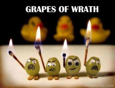 Meme de humor sobre Las uvas de la ira, de John Steinbeck