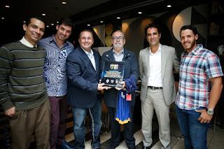 Presidente de Federación Venezolana de Fútbol recibe a Los Guerreros
