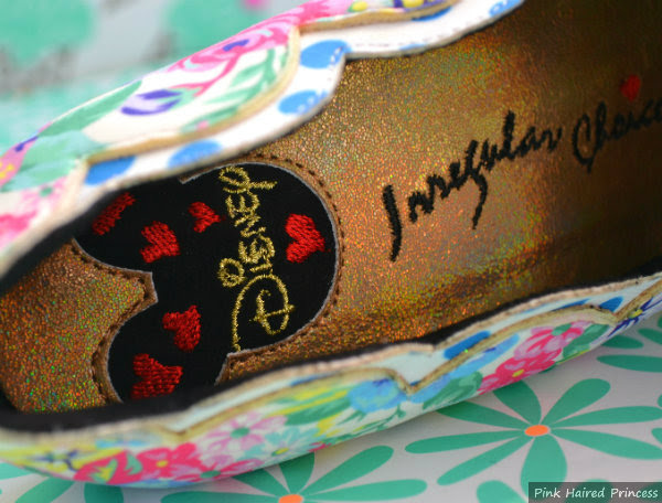 mouse head insole detail