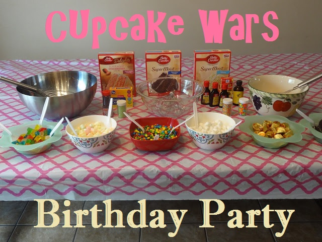Cupcake Wars Birthday Party Lessons From Our Life