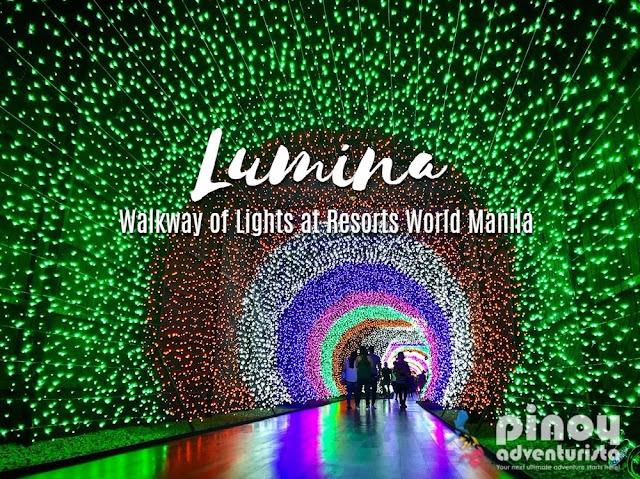 Resorts World Manila Christmas Lights Tunnel Walkway