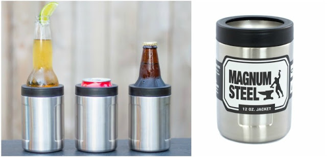 Magnum Steel Stainless Can Cooler $17 (reg $20)