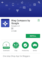 Blog Compass app by google