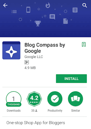 Google launches Blog Compass app to help indian bloggers manage their sites