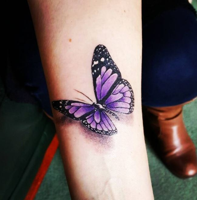 100+ Unique Butterfly Tattoos For Women With Meaning (2019