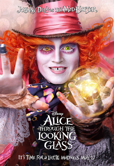 Alice Through the Looking Glass movieloversreviews.filminspector.com movie poster