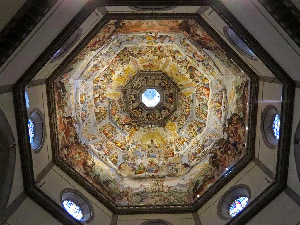 The Last Judgment, by Giorgio Vasari and Federico Zuccari, Santa Maria del Fiore, Saint Mary of the Flower, Florence Cathedral