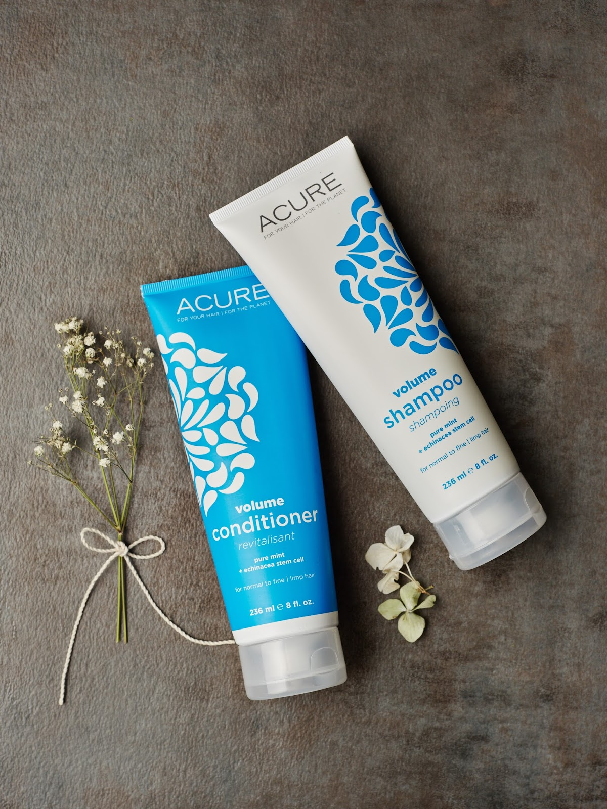 acure organics volume shampoo and conditioner review