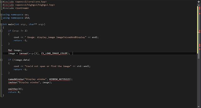 Opencv Installation NUGET