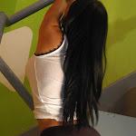 Andrea Rincon, Selena Spice Galeria 32 : Blusa Blanca y Cachetero Negro Foto 40