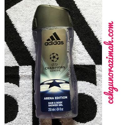 Adidas UEFA Champions League Arena Edition, minyak wangi adidas, minyak wangi adidas terbaru, harga minyak wangi adidas, minyak wangi lelaki